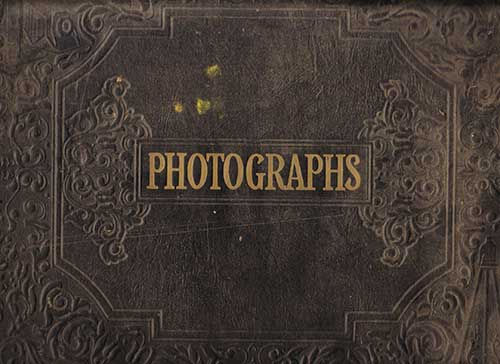 Image of cover of photograph album