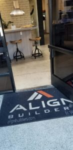 Photo of Align Builders welcome mat