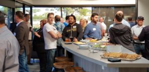 Guests at the Align Builders 'Meet Your G.C.' open house