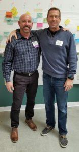 Photo of Toby MacDonald and Steve Sherrer