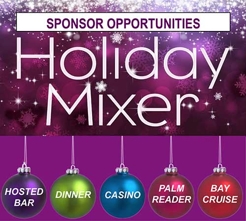 2019 Holiday Mixer Sponsor Opportunities Graphic