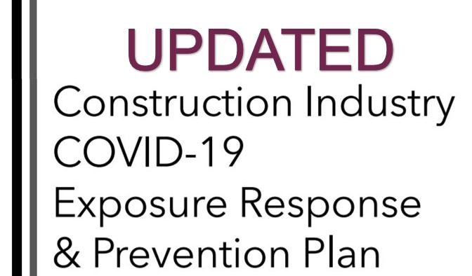 Updated Construction Industry COVID-19 Safety Plan